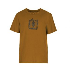 E9 Plan T-Shirt Mustard front S21 Elementary Outdoor Sports